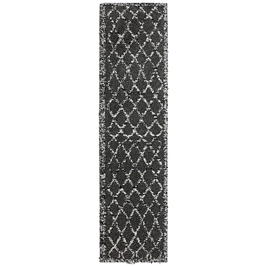 Bungalow Rose Renda Fresno Dark Taupe Area Rug; 6'5'' x 10'