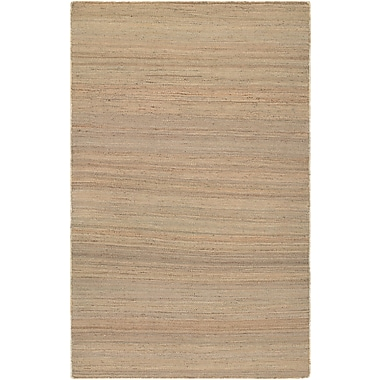 Bungalow Rose Uhlig Hand-Woven Natural Area Rug; 7'10'' x 10'10''