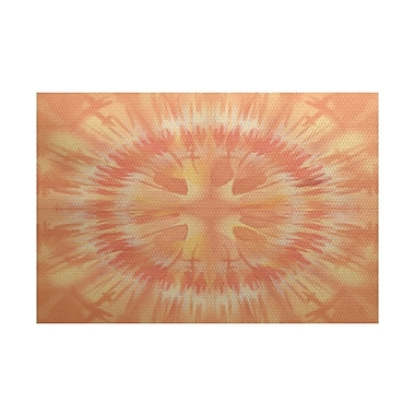 Bungalow Rose Armstrong Orange Area Rug; 3' x 5'