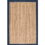 Bungalow Rose Singh Blue/Brown Area Rug; 4' x 6'
