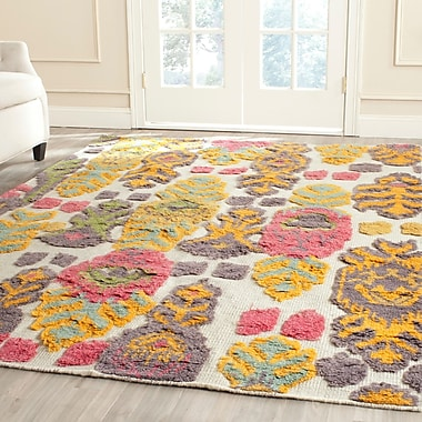 Bungalow Rose Hawke Multi Colored Area Rug; 9' x 12'
