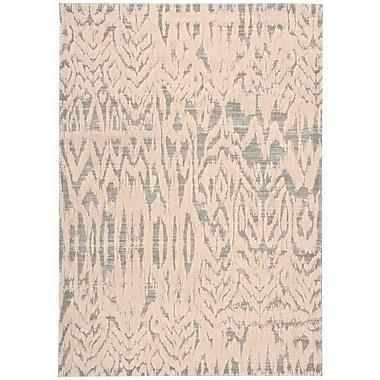 Bungalow Rose Shaima Beige/Gray Area Rug; 7'9'' x 10'10''