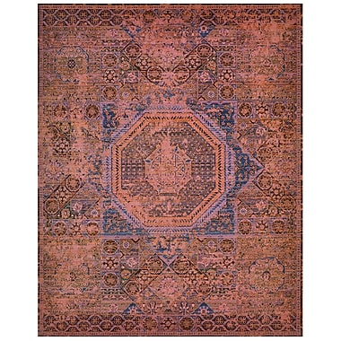 Bloomsbury Market Dunsmuir Blush Area Rug; Rectangle 8'6'' x 11'6''