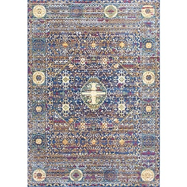 Bungalow Rose Fallsview Purple Area Rug; 7'10'' x 10'10''