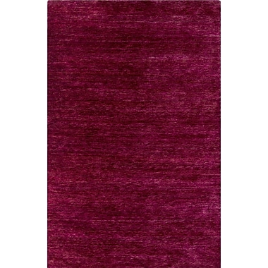 Bungalow Rose Nondoue Hand-Knotted Pink Area Rug; 5' x 7'6''