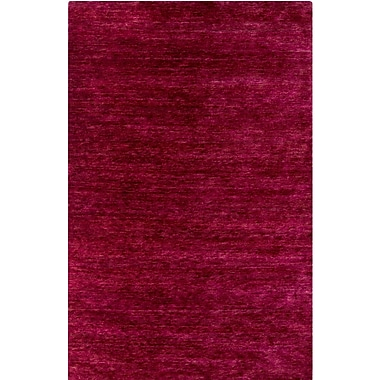 Bungalow Rose Nondoue Hand-Knotted Pink Area Rug; 8' x 10'