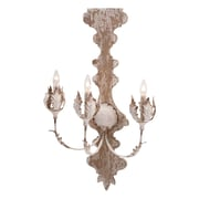 Bungalow Rose Retana 3-Light Wall Sconce Hardwired