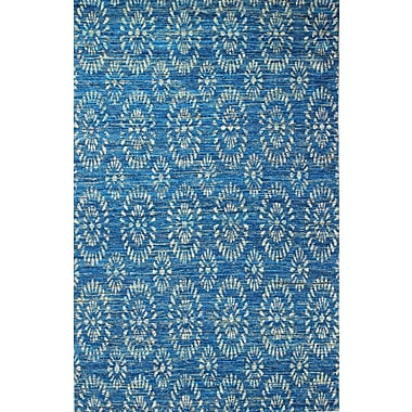 Bungalow Rose Amira Hand-Woven Royal Area Rug; 5'9'' x 8'9''