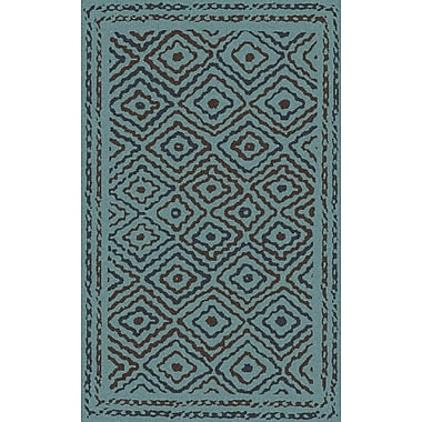 Bungalow Rose Sala Teal Area Rug; 5' x 8'