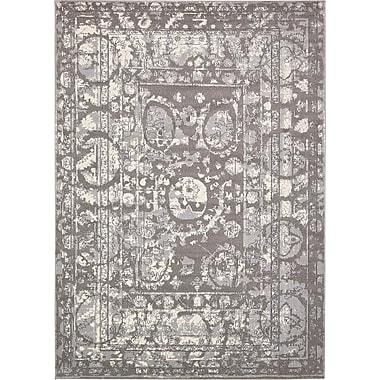 Bungalow Rose Fasano Gray Area Rug; 10' x 14'