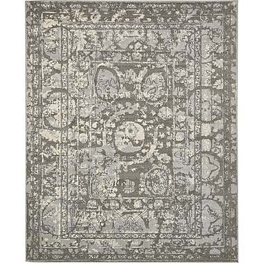 Bungalow Rose Fasano Gray Area Rug; 8' x 10'