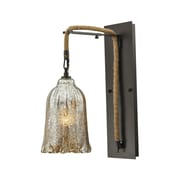 Bungalow Rose Marjane 1-Light Wall Sconce; 60W Incandescent