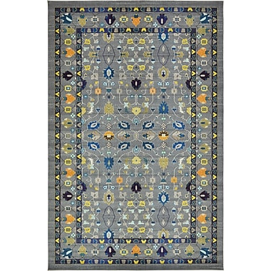 Bungalow Rose Iris Gray Area Rug; 10'6'' x 16'5''