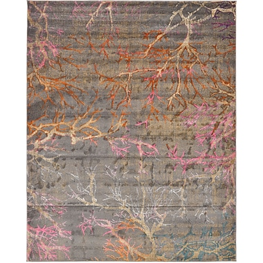 Bungalow Rose Sepe Gray Area Rug; 8' x 10'