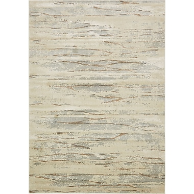 World Menagerie Essex Ivory Area Rug; 7' x 10'