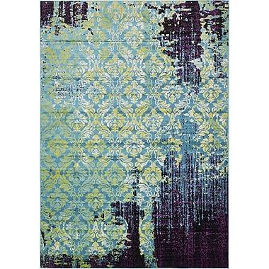 Bungalow Rose Yareli Blue/Violet Area Rug; 8' x 11'6''