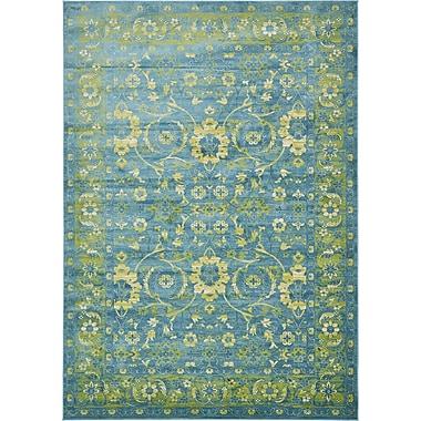 Bungalow Rose Yareli Turquoise/Green Area Rug; 8' x 11'6''