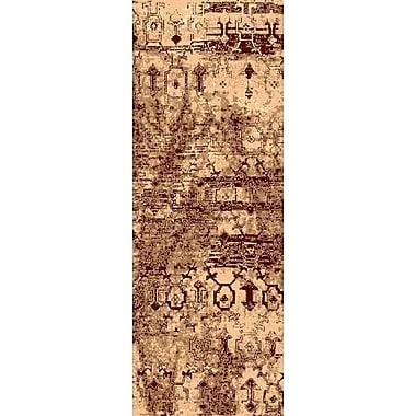 Bungalow Rose Argentine Beige Area Rug; Runner 2'7'' x 7'3''