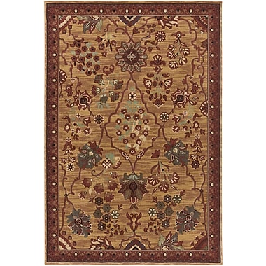 Bungalow Rose Argentine Burgundy Area Rug; 1'10'' x 2'11''