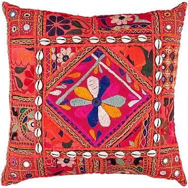 Bungalow Rose Anwar Throw Pillow Cover; 18'' H x 18'' W x 0.25'' D
