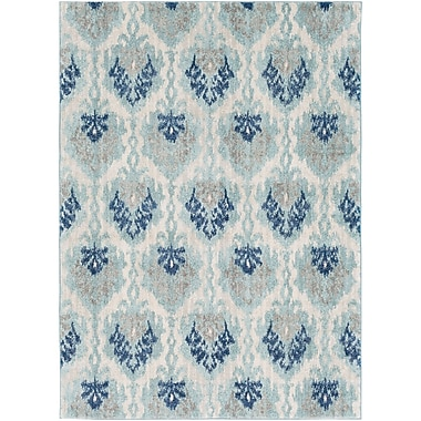 Bungalow Rose Andover Blue Area Rug; 5'3'' x 7'3''