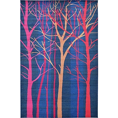 Bungalow Rose Roshan Blue Area Rug; 10'6'' x 16'5''