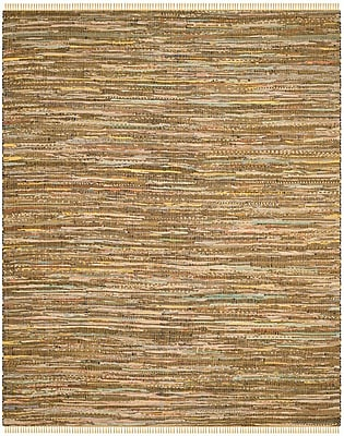 Bungalow Rose Nessadiou Hand-Woven Yellow/Multi Area Rug; 8' x 10'