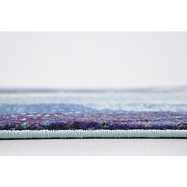 Bungalow Rose Fujii Blue Area Rug; 8' x 11'4''