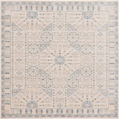 Bungalow Rose Mellal Beige Area Rug; Square 8'