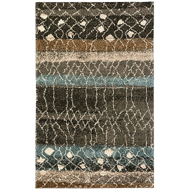 Bungalow Rose Allendale Brown Area Rug; 8' x 10'