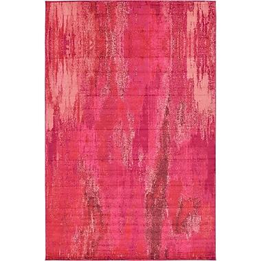 Bungalow Rose Fujii Pink Area Rug; 7' x 10'