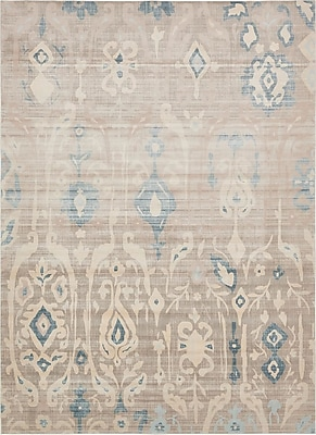 Bungalow Rose Mellal Dark Gray Area Rug; 10' x 13'
