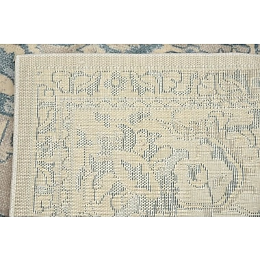 Bungalow Rose Mellal Gray Area Rug; Square 8'