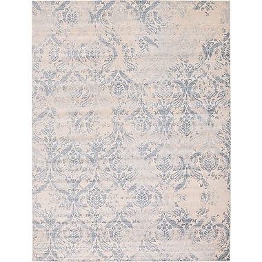 Bungalow Rose Mellal Blue Area Rug; 2'2'' x 3'