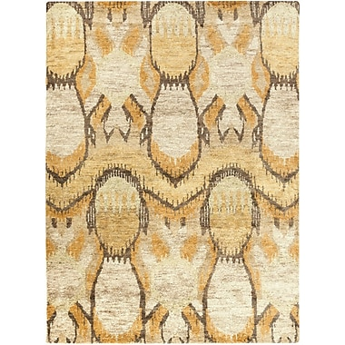 Bungalow Rose Elvera Green Area Rug; 8' x 11'