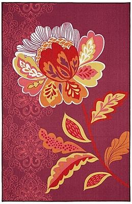 Bungalow Rose Ruggieri Amaranda Purple Area Rug; 7'6'' x 10'