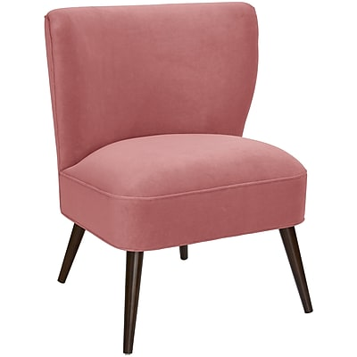Bungalow Rose Mamounia Slipper Chair; Regal Dusty Rose WYF078281562462