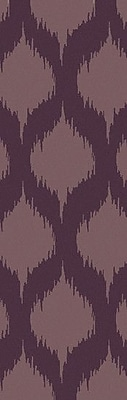Bungalow Rose Faith Twilight Mauve Geometric Area Rug; 8' x 11'