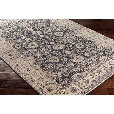Bungalow Rose Anselma Hand-Loomed Neutral Area Rug; 8' x 10'