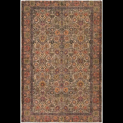Bungalow Rose Forrestal Hand-Woven Neutral/Black Area Rug; 2' x 3'