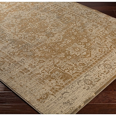 Bungalow Rose Argentine Brown Area Rug; 7'10'' x 9'10''