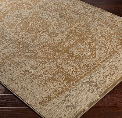 Bungalow Rose Argentine Brown Area Rug; 2'7'' x 4'7''