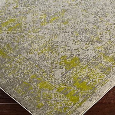 Bungalow Rose Anil Green/Gray Area Rug; 7'6'' x 10'6''