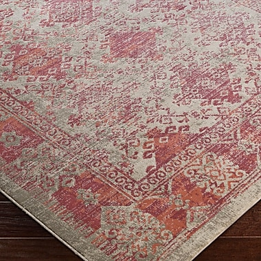 Bungalow Rose Anil Red Area Rug; 2'2'' x 3'