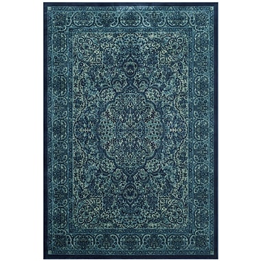 Bungalow Rose Smithfield Blue Area Rug; 8' x 11'2''