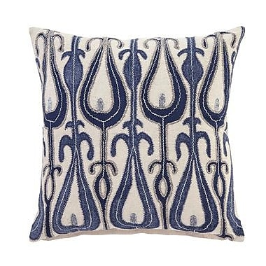 Bungalow Rose Calumet Pillow Cover; Blue