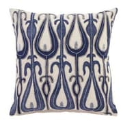 Bungalow Rose Calumet Pillow Cover; Blue