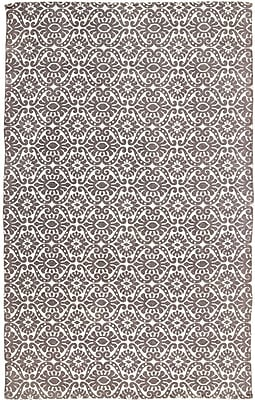 Bungalow Rose Armagh Brown/Beige Area Rug; 5' x 8'