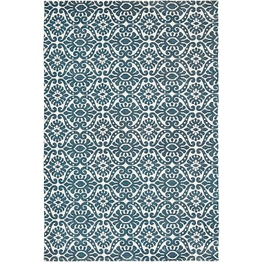 Bungalow Rose Armagh Blue Area Rug; 4' x 6'