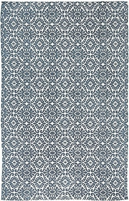 Bungalow Rose Armagh Blue Area Rug; 5' x 8'